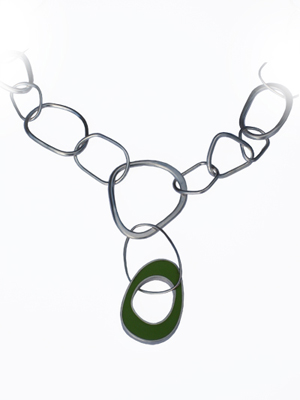 Biomorph Link Necklace
